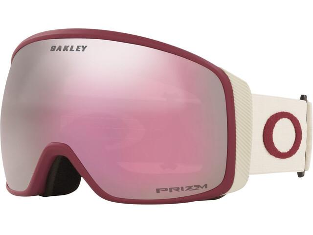Oakley Flight Tracker XL Lunettes de ski Femme, grenache grey/prizm snow hi pink